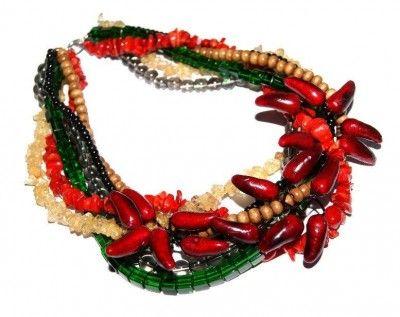 Naszyjnik Chili #naszyjnik #necklace #jewelry #jewellery #bizuteria