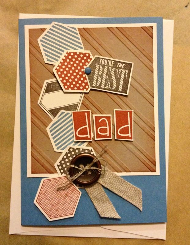 Stampin Up Six -sided Sampler stamp set and coordinating punch
