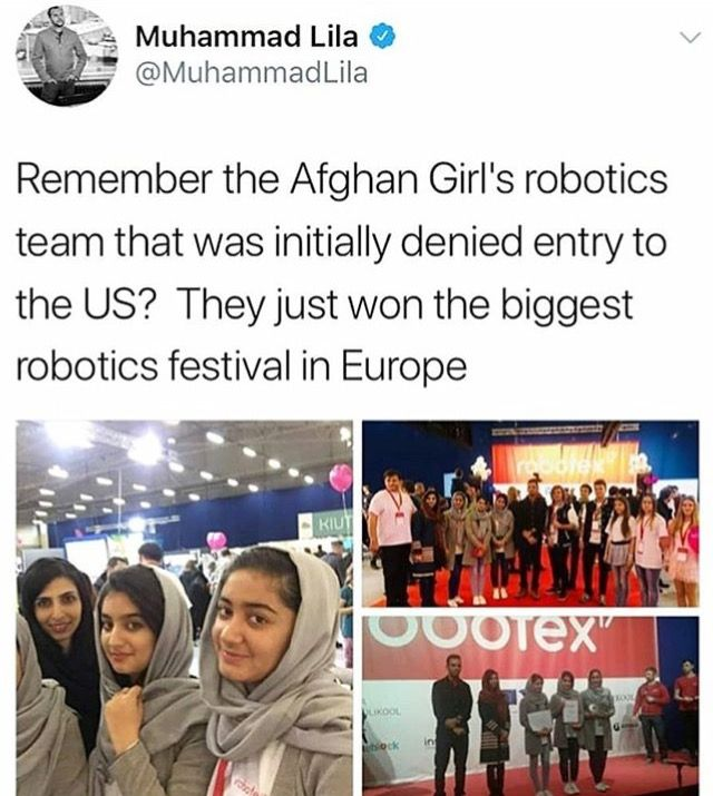 Tell me again why they were a threat? They're going strong. Bravo girls!!