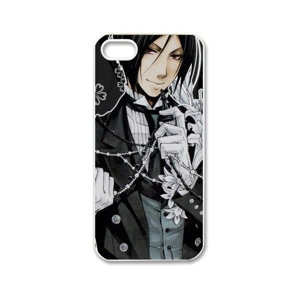 FashionFollower Personalize Hot Anime Series Black Butler Top Phone... ($13) ❤ liked on Polyvore featuring accessories, tech accessories, phone cases, black butler and tech