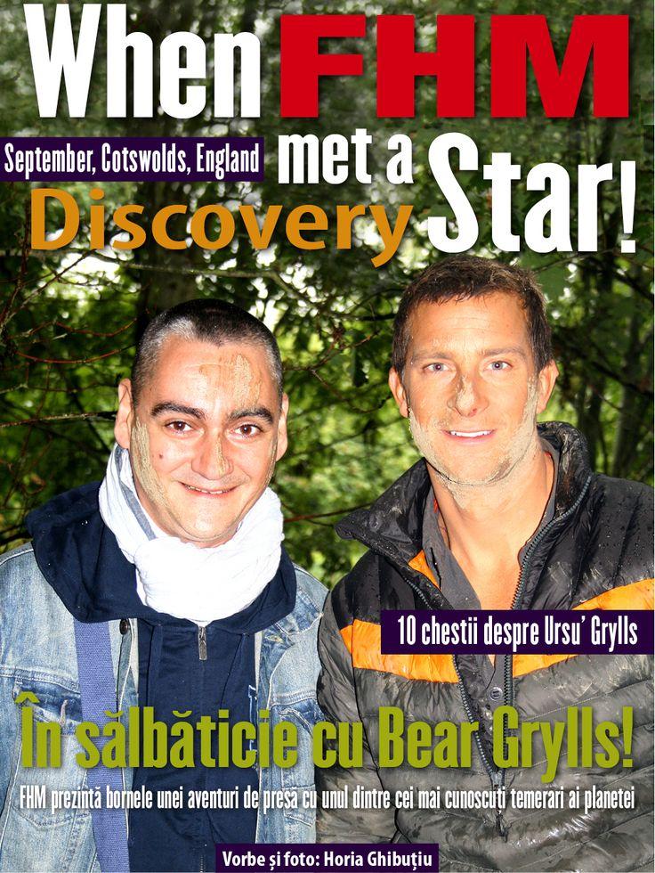 Design by Amalgam Project!  Cu ocazia lansării oficiale a site-ului său, Horia Ghibuțiu, redactor-șef FHM România, oferă cititorilor săi o revistă, în stil Amalgam Project, în care povestește cum a supraviețuit în pădure alături de vedeta Discovery, Bear Grylls.  O puteți citi la adresa: http://issuu.com/horiaghibutiu/docs/fhm-bear1