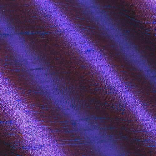 dupioni silk fabric has a lustrous sheen and small slubs that run across the