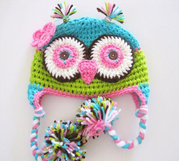 owl kiddie hat
