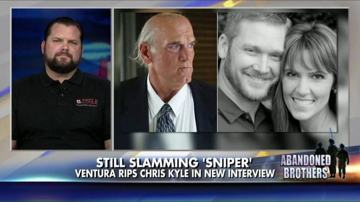 "9/1/15 - Former Minnesota Gov., ASSHOLE Jesse Ventura said in a recent interview with ""High Times"" that ""American Sniper"" Chris Kyle is ""not a hero."""