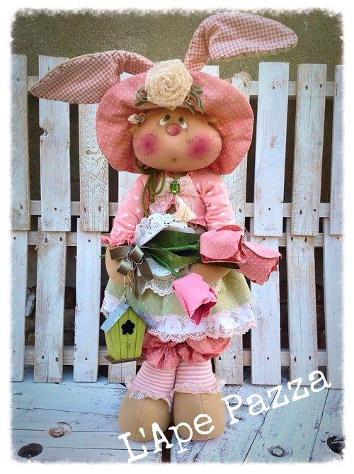 """Cartamodelli primavera 2015 : Cartamodello coniglia """"Penelope"""""""