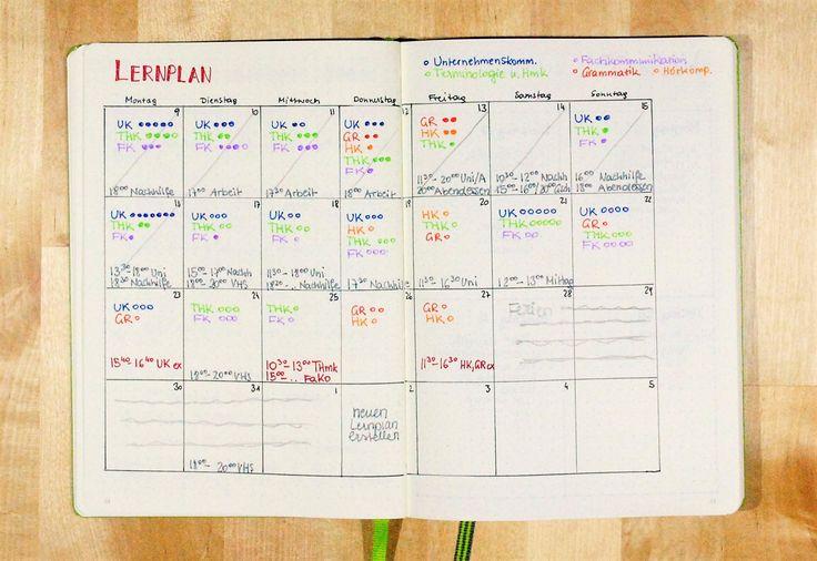 Studium Kalender