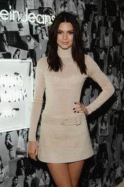 Kendall Jenner Dark Nail Polish