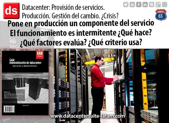 Datacentersuite, Datacenter ¿El funcionamiento es intermitente? ¿Que hace?   ¿Que factores evalúa ?