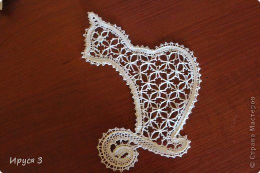Поделка изделие Плетение на коклюшках Кружевные миниатюры -   Нитки фото 2