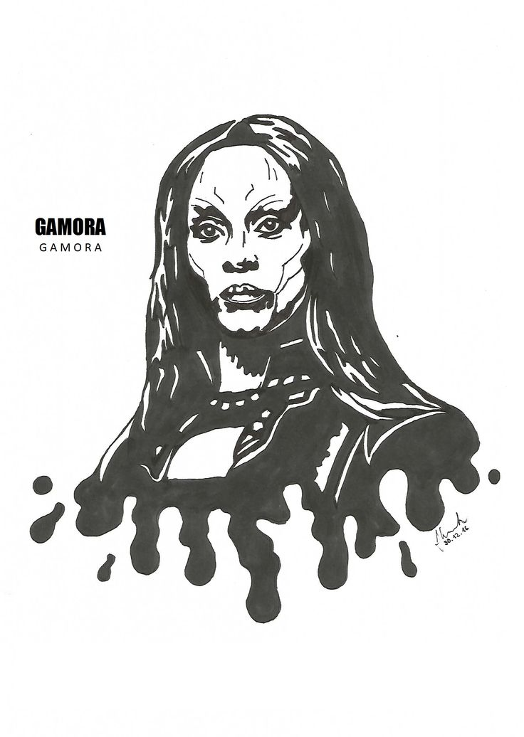#gamora #zoe #saldana #drawing #blackandwhite #marvel #guardians #of #the #galaxy #guardiansofthegalaxy
