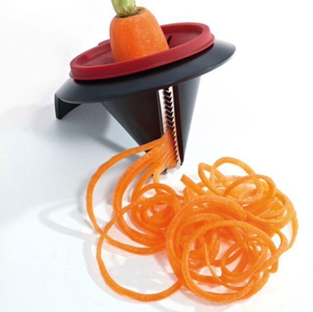 Кухня Гаджеты Фруктовые Овощной Spiralizer Спираль Растительные Slicer Измельчители Овощечистка Резак морковь терка Кухонные Принадлежности