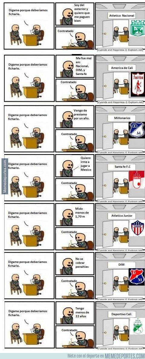 788017 - Método de fichajes en la liga colombiana