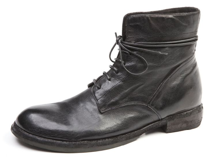 Boots for Men, Booties On Sale, Black, Calfskin Leather, 2017, 8 Officine Creative