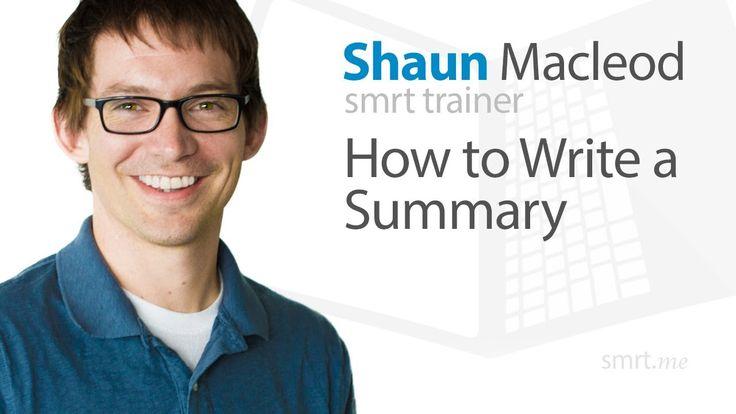 How to write a summary teaching summaries pinterest