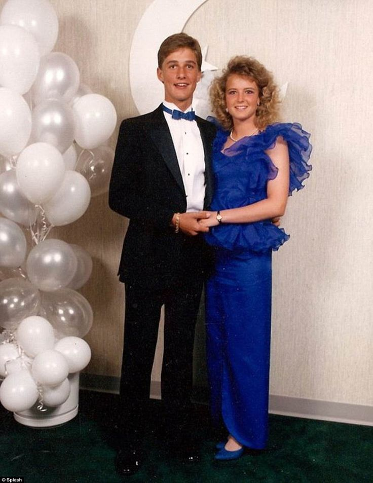 Not always so great in front of a camera: Even Matthew McConaughey can't escape an embarrassing high school photo. The 44-year-old Texas native looked awkward in his 80s prom picture