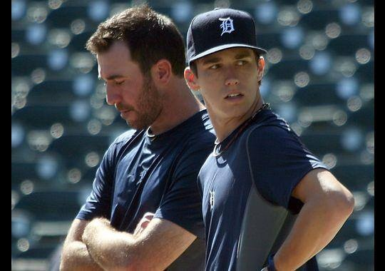 There's another Verlander in the Tigers organization! Today, Detroit used their 14th round pick to select Ben Verlander, Justin's younger brother. Ben just finished his junior year at Old Dominion where he transitioned from a pitcher to an outfielder and hit .367 with 11 HRs. You can bet JV is one proud brother right now.