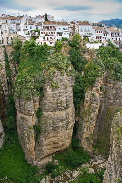 Living on the edge - Ronda, Spain   Incredible Pictures -  Just don't sleepwalk