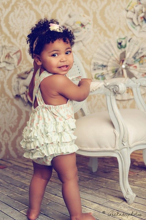 mens card wallet Baby Girl Sunsuit Romper Bubble with Ruffles  Shabby Romance Green