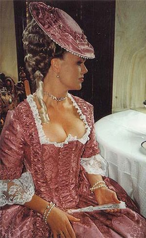 18th century baroque dress. We should all still dress like this.