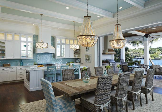 Coastal Kitchen Design Interior Entrancing Decorating Inspiration