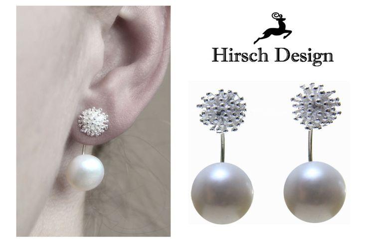 Doppel+Ohrringe+von+Hirsch-Design+auf+DaWanda.com