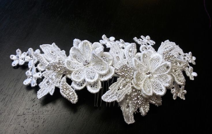 DIY Lace Hair Comb — Crafthubs