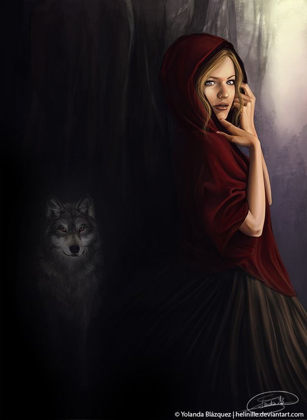 Little Red Riding Hood by YolandaBlazquez