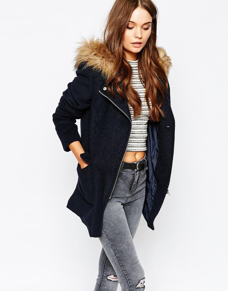 Best 25  Coat with fur hood ideas on Pinterest | Winter coat ...