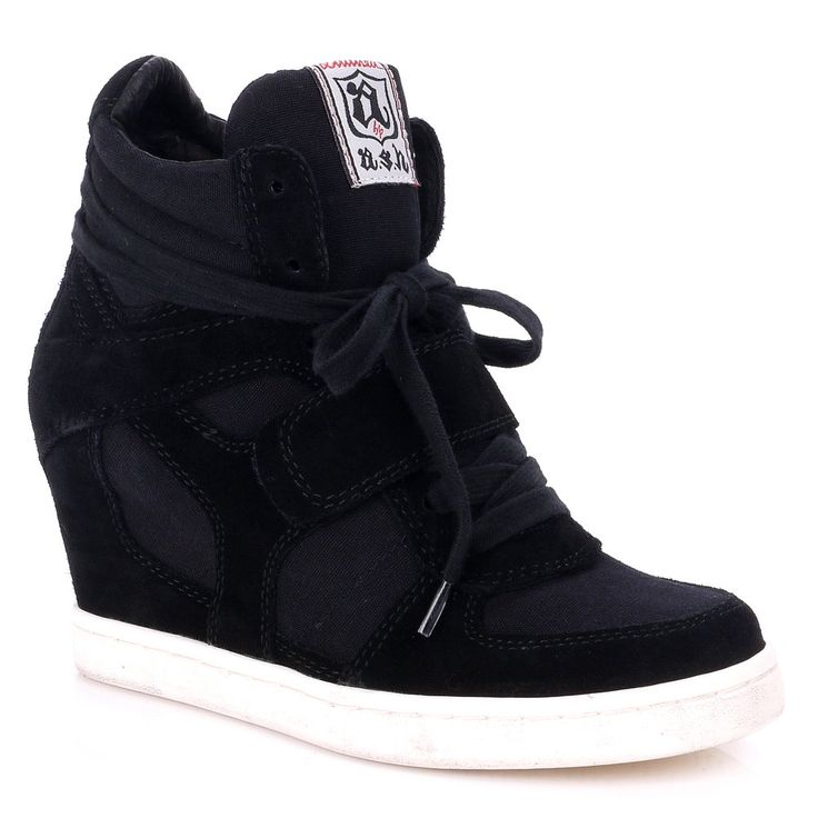 HAVE THEM <3 VAL.  Wedges Product | Home › Womens › Wedges › Wedge Trainers › Ash Cool Wedge Black ...