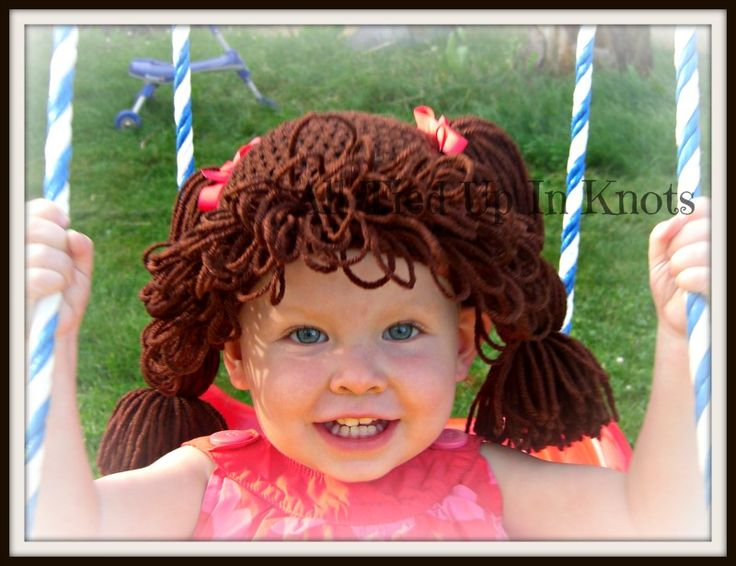Cabbage Patch Inspired Crochet Hat Pattern Image Collections