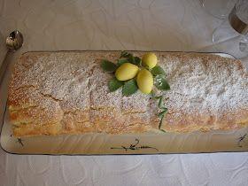 Himmelske kager: Citron roulade - en himmelsk mundfuld