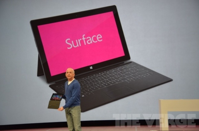 10.6-inch Microsoft Surface tablets announced, powered by Windows 8