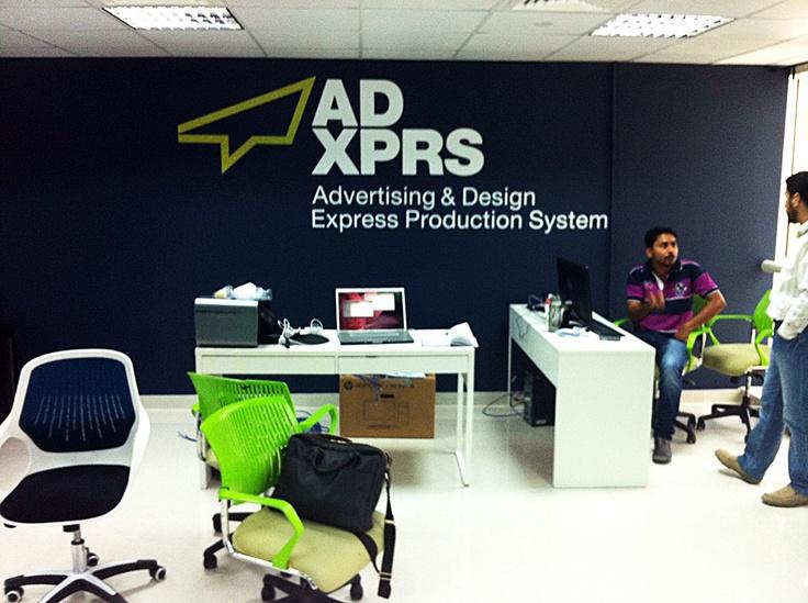 ADXPRS Logo Internal Office Signage: Logos International, Adxpr Logos