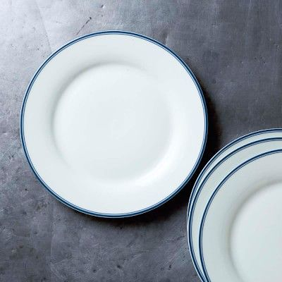Williams Sonoma Open Kitchen Bistro Dinner Plates Set of 4 Blue & 25 best Boucherie Plates images on Pinterest | Butcher shop ...