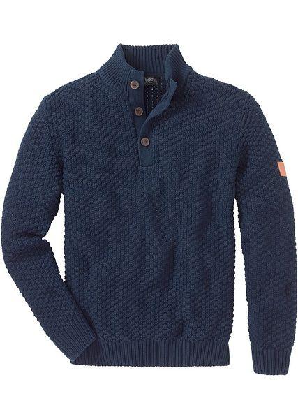 Πουλόβερ regular fit Μπλε σκούρο John Baner JEANSWEAR | 29.99 € | bonprix
