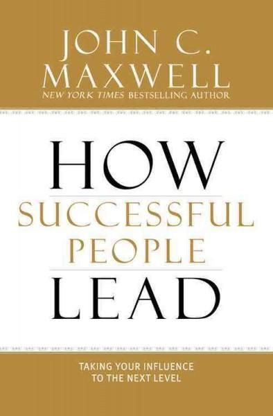 how successful people lead pdf
