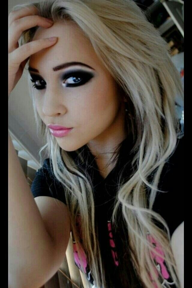 Outstanding 1000 Images About Hair Styles Black And Blonde On Pinterest Hairstyle Inspiration Daily Dogsangcom