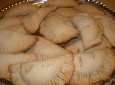 the empandas look like the once my mom used to make for us - Mexican Pumpkin Empanadas, Empanadas de Calabaza Recipe