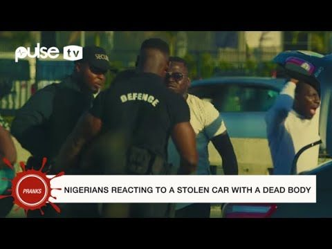 On this episode of pulse Pranks Makopolo tested the reactions of Nigerians to being accused of murder.A car is parked with a dead body inside. Passers-by are invited to help start the car.This is strictly joke. Please Download and fun!Pulse.ng is Nigeria's online news platform. 24/7 news gist music movies lifestyle events sports and more.DOWNLOAD VIDEO  http://ift.tt/2wNu9fq