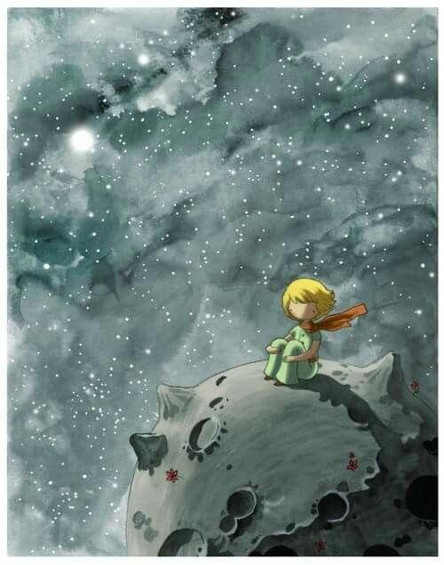 """""""E mi piace la notte ascoltare le stelle. Sono come cinquecento milioni di sonagli..."""" (Antoine De Saint Exupèry)"""