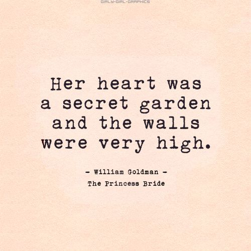 Her heart..