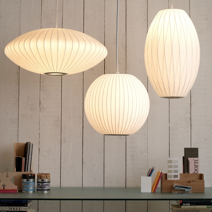 Nelson Lighting - George nelson bubble lamps | http://www.replicalights.com.au/brands/Nelson-Lighting-George-Nelson.html