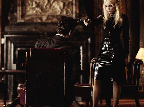 Amber Heard as Secret Agent Vivi in 'Three Days To Kill'.