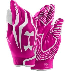 Under Armour Adult F3 Pink Receiver Gloves - Dick's Sporting Goods