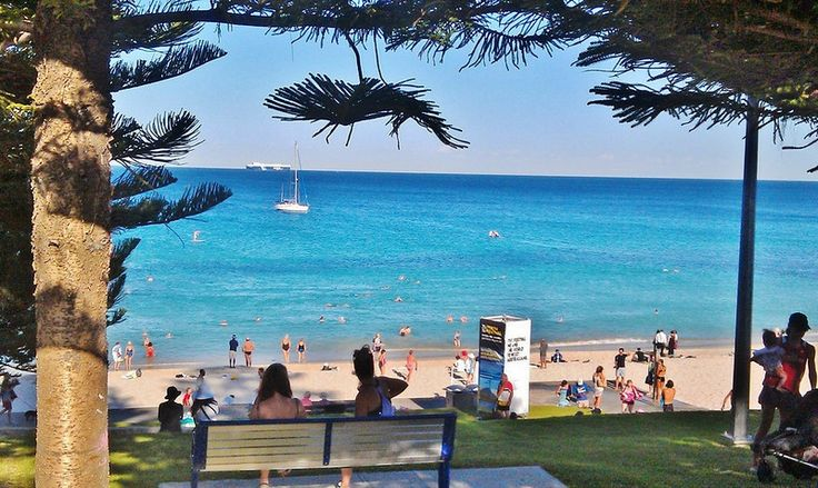 how to go to cottesloe beach from perth city