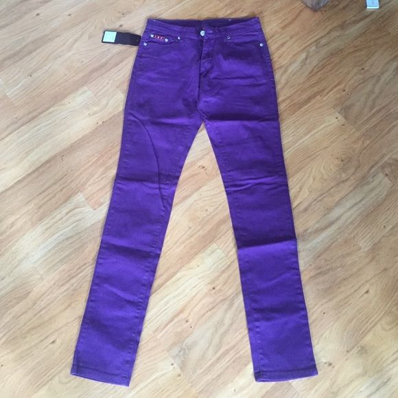 T&Y Fashion Purple Jeans T&Y Fashion Purple Skinny Jeans. T&Y Fashion Jeans Skinny