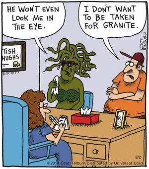 The Argyle Sweater Comic Strip, August 02, 2014 on GoComics.com
