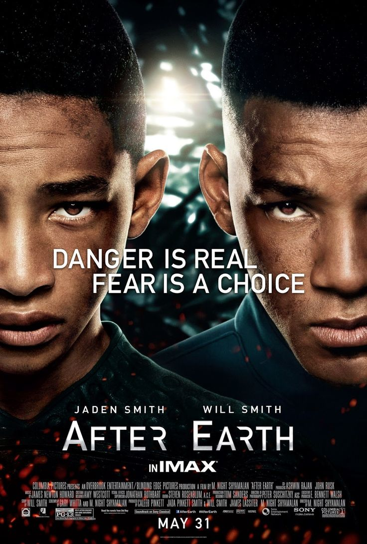 After Earth - Review: After Earth (2013) is a 1h 40-min American science-fiction action adventure film that had a budget of… #Movies #Movie