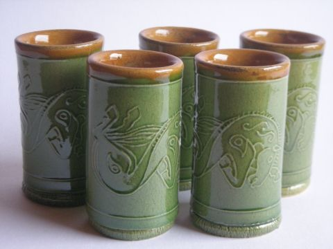 Nemes Tímea keramikus kupicái