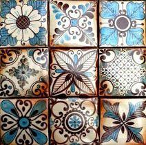 Azulejos estilo SAMARCANDA.                                                                                                                                                      Más